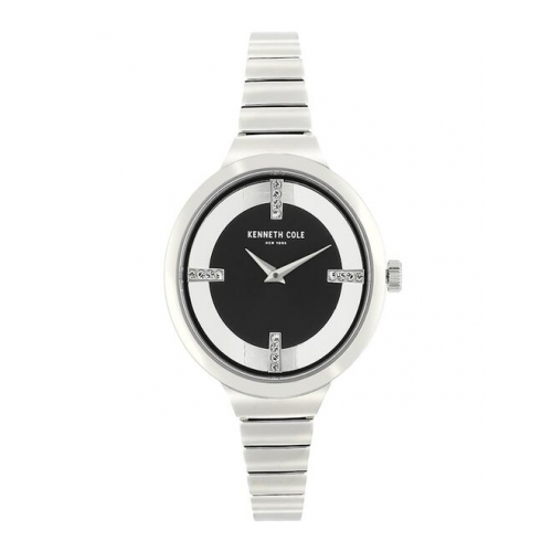 Kenneth Cole Women Analogue Silver Toned Watch KC50187006LD