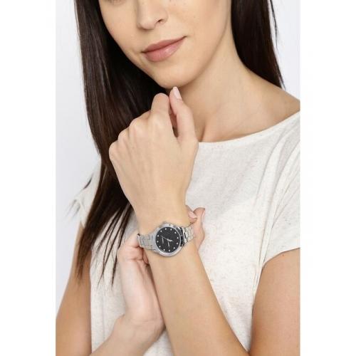 Timex Women Black Analogue Watch TW000T612