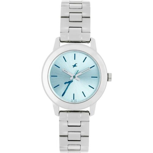 Fastrack Women Turquoise Blue Analogue Watch 68008SM07