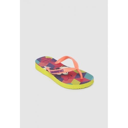Havaianas Girls Multicoloured Solid Thong Flip-Flops