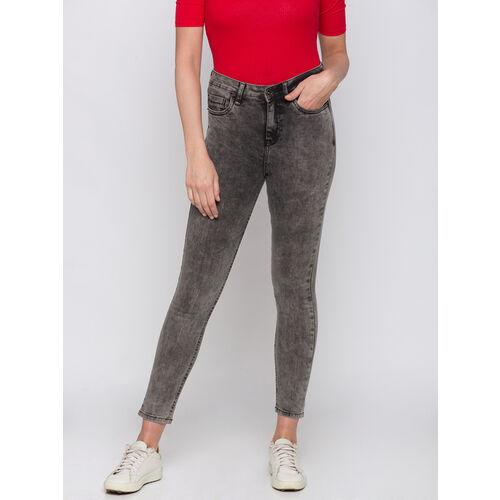 Globus Black Textured Jeans