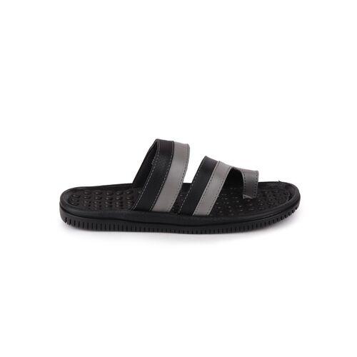 FAUSTO black slip on slippers