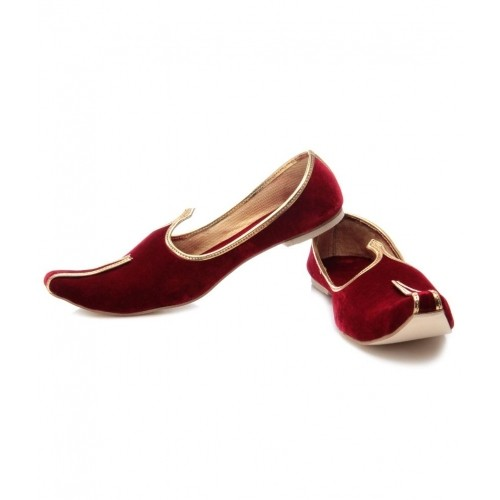 cbb71b010f68 Buy Foot Clone Red Suede Leather Jutti online