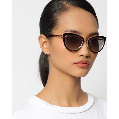 Tommy Hilfiger TH 2512 I Mblkpn-21 C3 53 Mirrored Cat-Eye Sunglasses