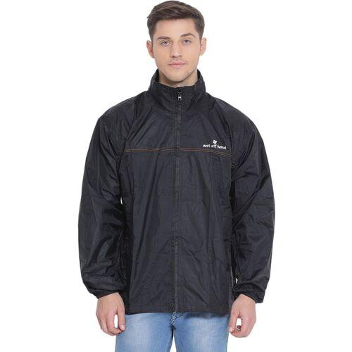 Wet Off Hood Solid Unisex Raincoat