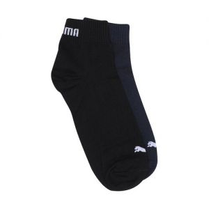 Puma Unisex Pack Of 2 Assorted Ankle-Length Socks