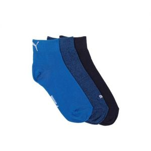 Puma Unisex Pack Of 3 Solid Ankle-Length Socks