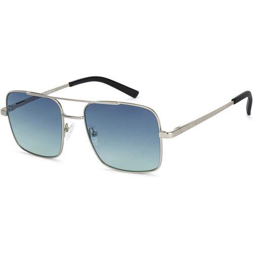 VINCENT CHASE Retro Square Sunglasses(Blue)