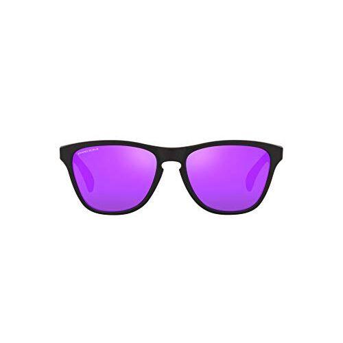 Oakley UV Protected Round Men Sunglasses - ( 0OJ9006 | 53 mm | Violet lens )