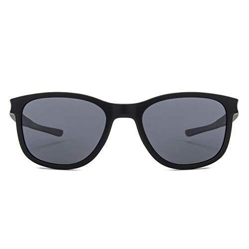 Vincent Chase by lenskart | Square Stylish Sunglasses | Polarized & UV Protected | For Men & Women | (54) Grey | LA S13167
