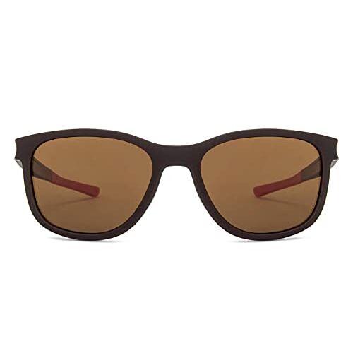 Vincent Chase by Lenskart | Brown Wayfarer Stylish Sunglasses | Polarized & UV Protected | For Men & Women | Large | LA S13167