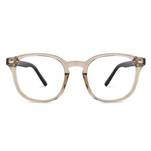 Vincent Chase By Lenskart | Zero Power Blue Cut & Antiglare Computer Eyeglasses | Wayfarer For Men & Women | Medium | VC E13350