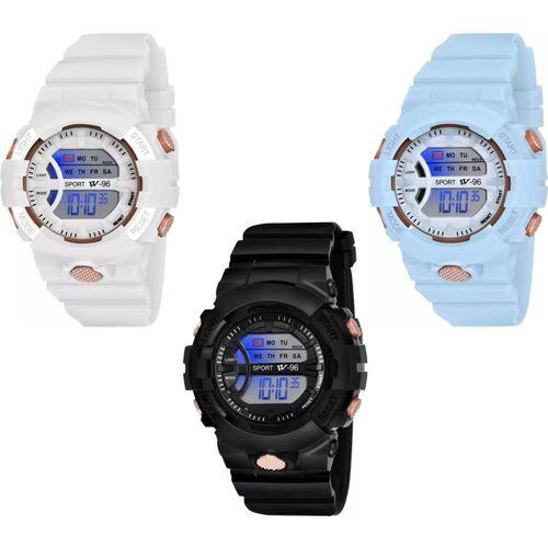 JAGER SPORTS DIGITAL KIDS WATCH COMBO OF 3 KIDS SPORTS WATCH Digital Watch - For Men