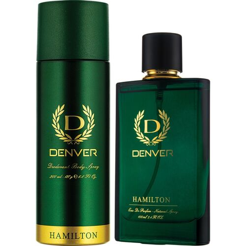 DENVER Hamilton Perfume and Hamilton Deo Combo(2 Items in the set)
