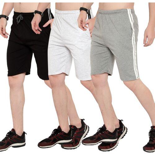 Style N Feel Solid Men Multicolor Basic Shorts