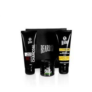 Beardo Men Set of Aloe Vera Face Glow Combo Grooming Kit