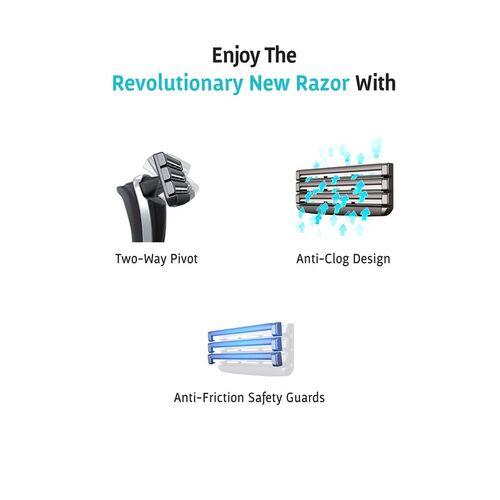 Bombay Shaving Company Dexter Razor & Apple Cider Shaving Foam Combo Grooming Kit