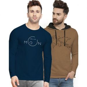 Pack of 2 Graphic Print T-shirts