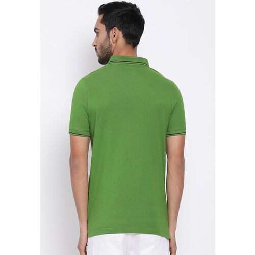 Turtle Men Pack Of 2 Solid Polo Collar T-shirt