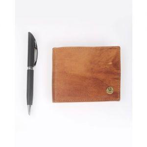 Bi-Fold Wallet & Pen Gift Set