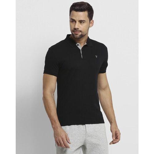 Van Heusen Logo-Embroidered Polo T-shirt