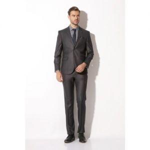 VAN HEUSEN 2 Piece Solid Men Suit