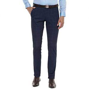 Van Heusen Men's Slim fit Formal Trousers