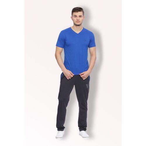 VAN HEUSEN Solid Men Blue Track Pants