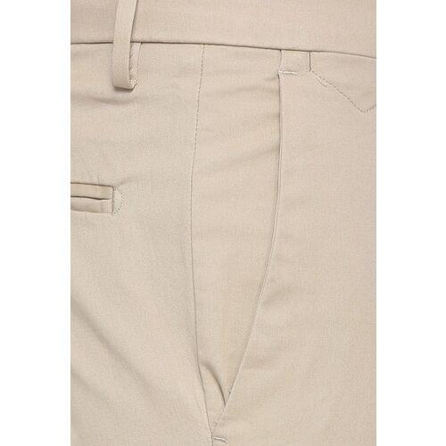 Van Heusen Men Beige Slim Fit Self Design Formal Trousers