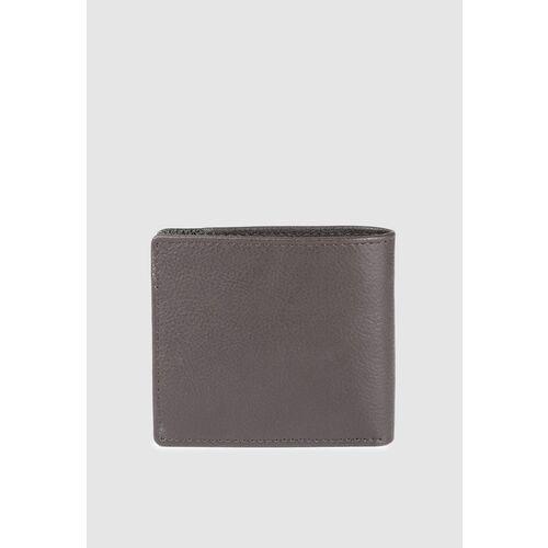 Van Heusen Men Brown Textured Two Fold Wallet