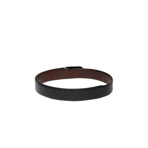 Van Heusen Men Black & Brown Solid Reversible Leather Belt