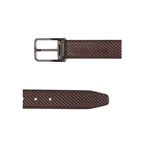 Van Heusen Men Black & Brown Textured Reversible Leather Belt