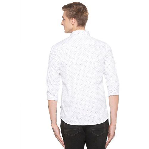 Globus white printed casual shirt