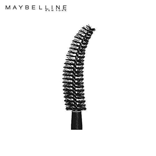 Maybelline New York The Colossal Liner, 1.2ml (Black) And Maybelline New York Hypercurl Mascara Washable, Black, 9.2ml