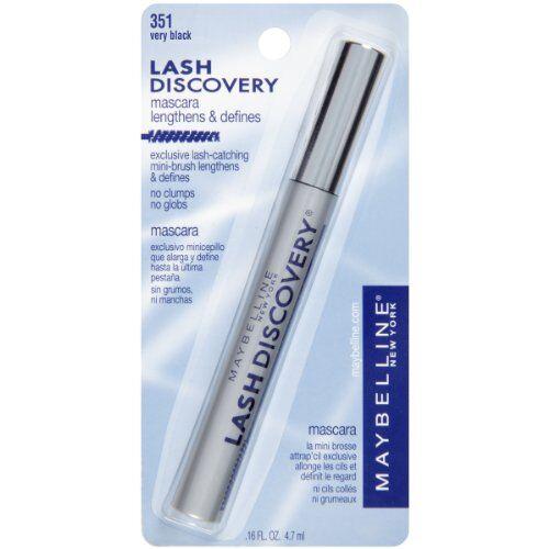 Maybelline Lash Discovery Washable Mascara, Very Black, 473ml