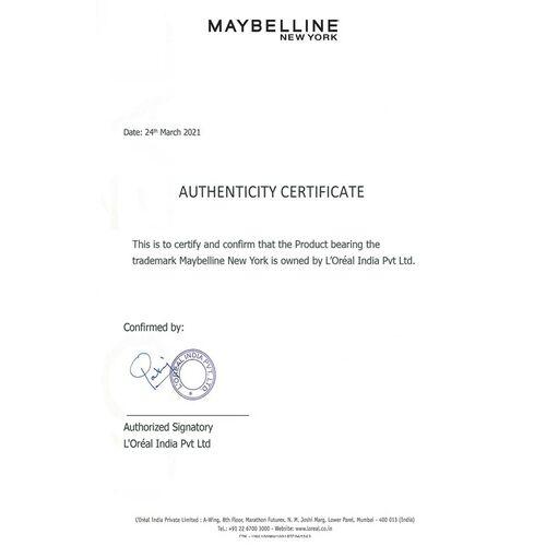 Maybelline New York Lash Sensational Waterproof Mascara - Black 10 g