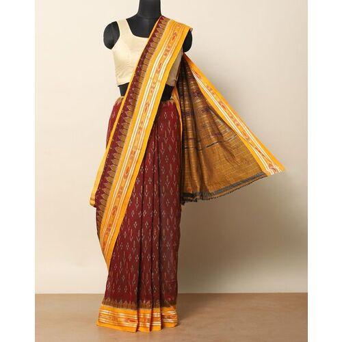 Indie Picks Pochampally Woven Ikat Saree