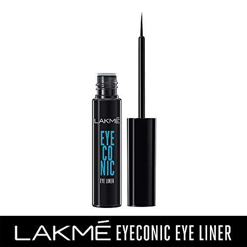 LAKME Eyeconic Liquid Eyeliner, Black, 4.5 ml