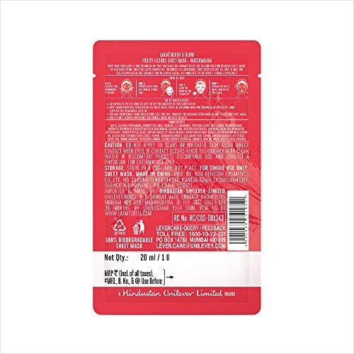 Lakme Blush & Glow Watermelon Sheet Mask, 20 ml