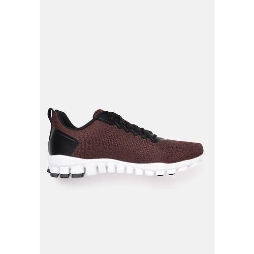Reebok Men Rust Red Woven Design Flex O Astro Running Shoes