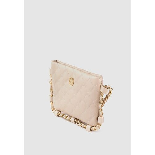 Lino Perros Gold-Toned Quilted Small Sling Bag