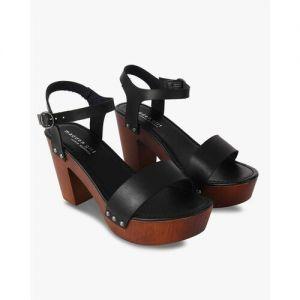 Steve Madden Ankle-Strap Chunky Heeled Sandals