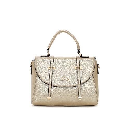 Lavie Gold-Toned Textured Handheld Bag
