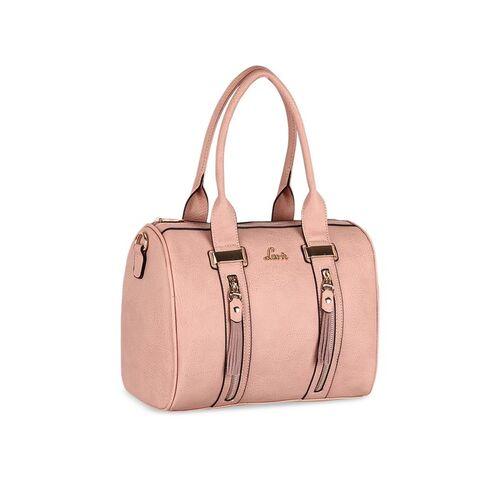 Lavie Peach-Coloured Textured Sling Bag