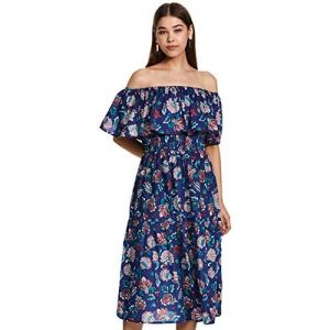 SERA Cotton Strapless Dress