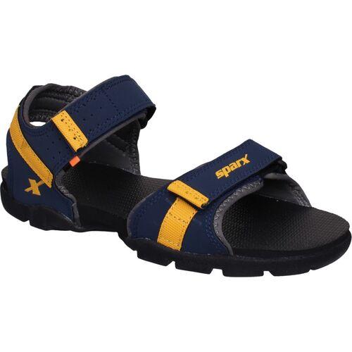 SPARX SS-109 Men Navy, Yellow Sandals