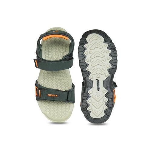 Sparx Green Floater Sandals