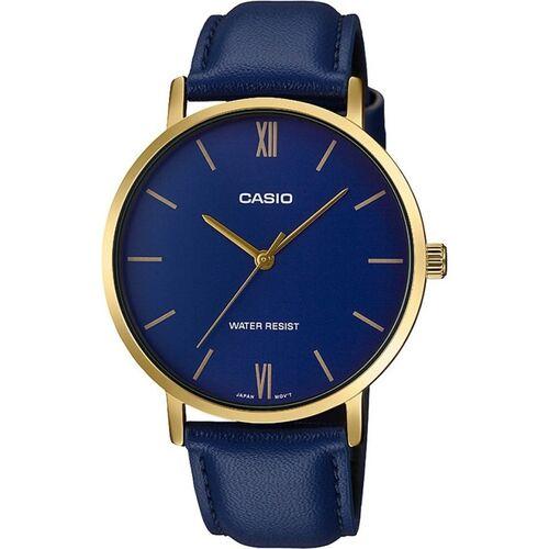 CASIO A1781 (MTP-VT01GL-2BUDF) Enticer Men's Analog Watch - For Men