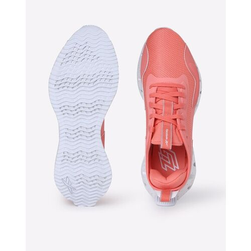 Reebok Zig Dynamic Lace-Up Running Shoes