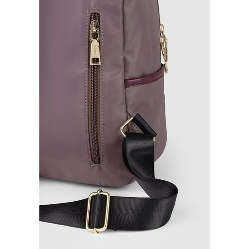 Caprese Women Taupe Solid Backpack